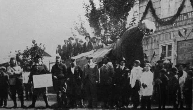 Carnaval de Bariloche en 1922