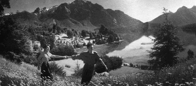 Publicité Bariloche en 1950